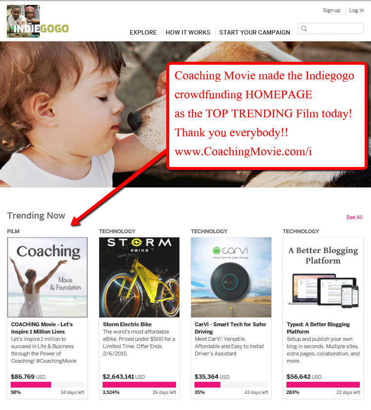 indiegogo_coaching_movie_top_trending_film